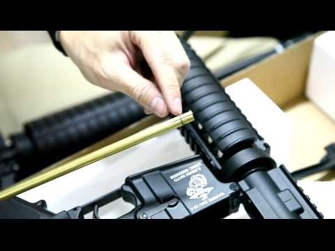 G&D DTW M4 CQB R. M16 A2. AR15 carbin. M16 Shorty review CRW-airsoft.com