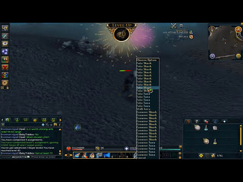 RS3 Ironman episode 3 (day 6) Chaotic staff!