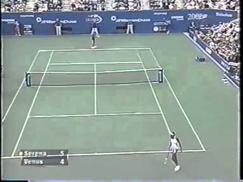 Serena Williams vs Venus Williams 2002 US Open Highlights