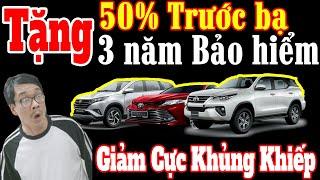 Bảng Giá Toyota Tháng 3 |Tặng 100%Trước Bạ|Tặng 3 Năm Bh| Giảm Giá Lớn Nhất |