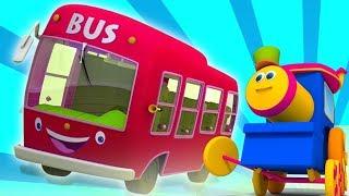 Bob el tren | Las ruedas del autobús. canciones infantiles | dibujos animados para niños