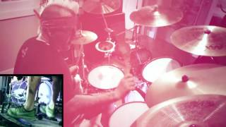 DEAD BY WEDNESDAY Opus' - Live Again (Drum Playthrough)
