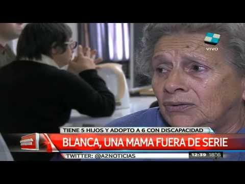 Blanca, una madre del amor