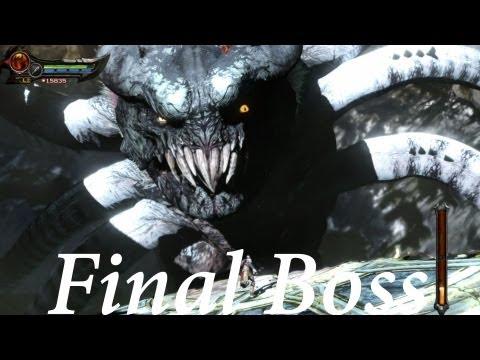 God Of War: Ascension - Walkthrough Final Boss Battle + Ending 1080p (hd) video