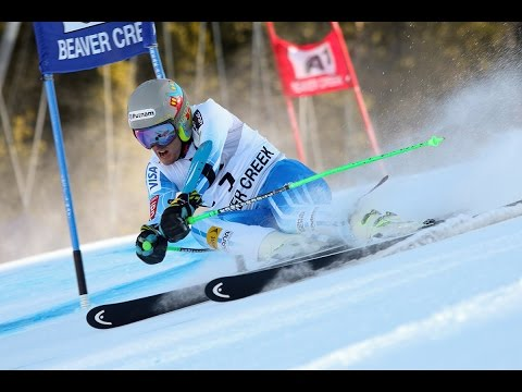 Ted Ligety's Giant Slalom Crash