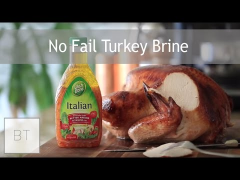 No Fail Turkey Brine