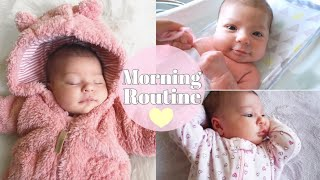 Solo Morning Routine With A Newborn   5 Weeks Old♡