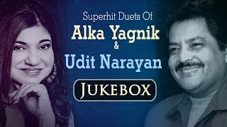 Best Of Udit Narayan & Alka Yagnik songs JUKEBOX {HD} - 90
