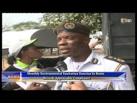 Monthly sanitation exercise in Benin records appreciable compliance