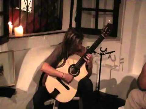 Ana Vidovic playing Asturias on Bellucci concert guitar