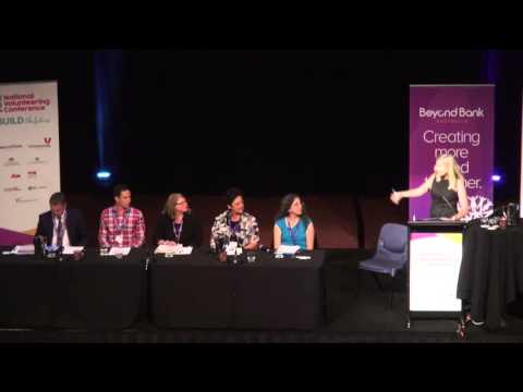 Panel: Give Happy Live Happy at the 2016 National Volunteering Conference