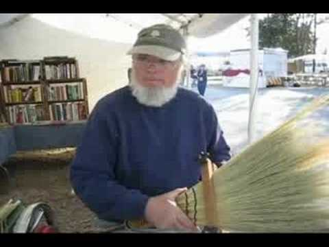 Handcrafted Brooms at First Monday Trade Days