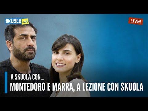 Daniela Marra e Simone Montedoro ospiti della Skuola | Tv
