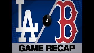 Dodgers belt 4 homers in 11-2 win   Dodgers-Red Sox Game Highlights 7/13/19