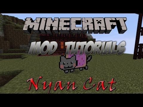 Minecraft 1.4.6 - How To Install The Nyan Cat Mod