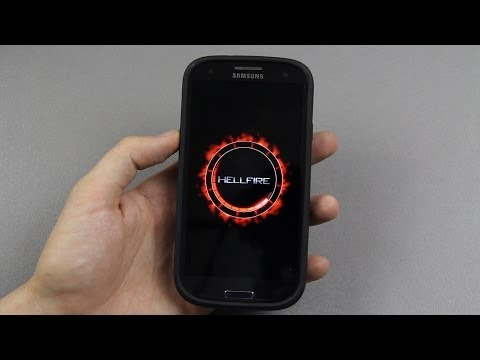 How To Install HellFire Jelly CM10.2 based ROM on the Samsung Galaxy S3!