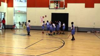 YMCA Basketball 2014 GAME 2