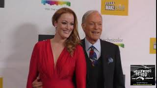 Adele Rene and Richard Chamberlain at the Make A Film Foundation Hosts Premiere Of The Black Ghiando