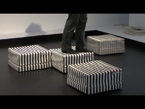 Robot Tiles using fabric sensors #DigInfo