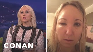 Nikki Glaser's Vibrator Mishap Ruined Thanksgiving  - CONAN on TBS