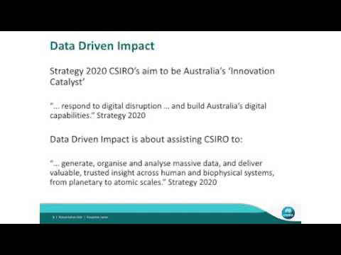 CSIRO 講演動画(NTT Global Forum in Sydney)