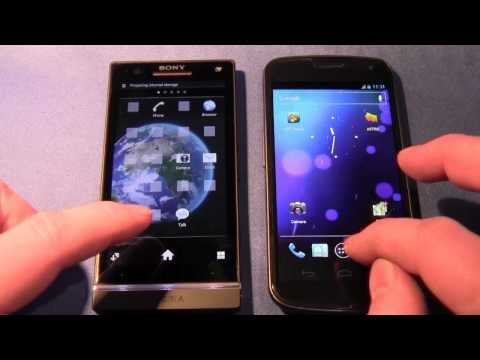 Sony Xperia S vs Samsung Galaxy Nexus (Boot time, GPS, Screen, Speaker etc)