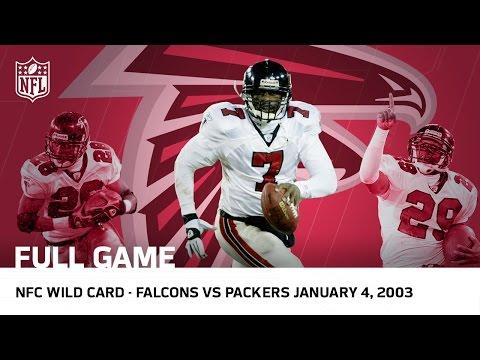 Michael Vick S Historic Upset Falcons Vs Packers 2002 Nfc