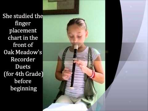 Oak Meadow Recorder Duets
