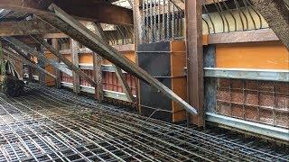 Kho Tư liệu Xây dựng - Đổ bê tông sàn và tường tầng hầm cùng lúc | Cấu tạo cốp pha & cốt thép