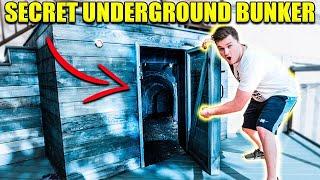 EXPLORING A SECRET UNDERGROUND BOX FORT!! 😱📦Abandoned Safe & More!