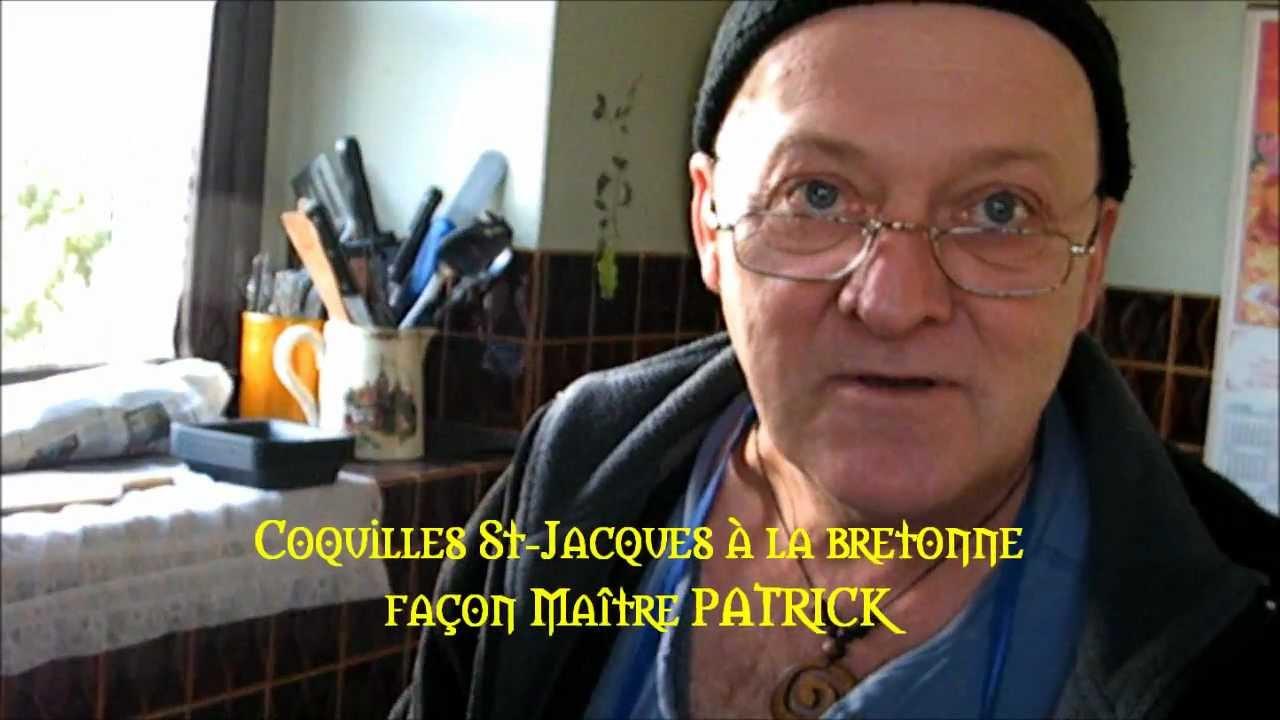 Coquilles st jacques la bretonne youtube - Coquille saint jacques bretonne champignons ...