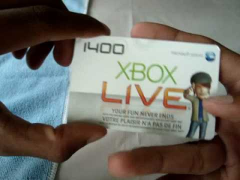 how to activate xbox live card yourself