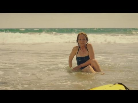 Helen Hunt Struggles To Surf In This Exclusive Look At 'Ride'