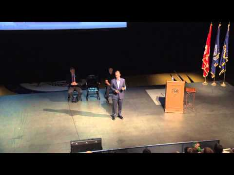 Moral Courage Lecture 2014: Mr. Travis Tygart