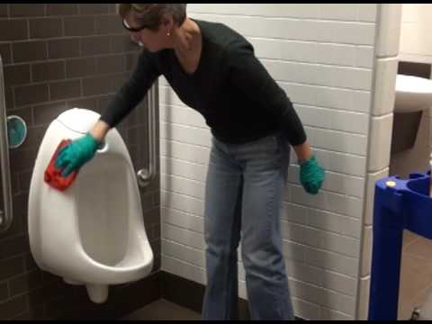 WASHROOM CLEANING TRAINING VIDEO