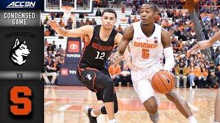 Northeastern vs. Syracuse Condensed Game | 2018-19 ACC Basketball