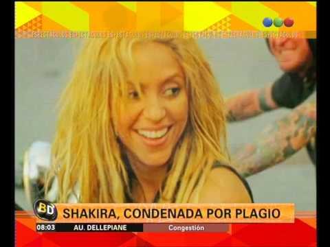 Shakira acusada de plagio por el tema