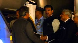 Qatar emir arrives in India to boost ties