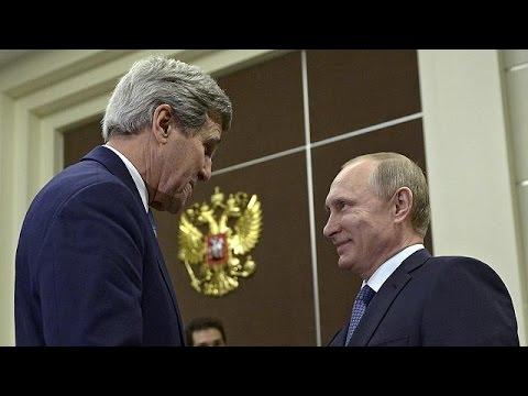 Stretta di mano Kerry-Lavrov: inizio del disgelo?