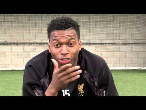 Liverpool striker Daniel Sturridge v kids from the Bronx