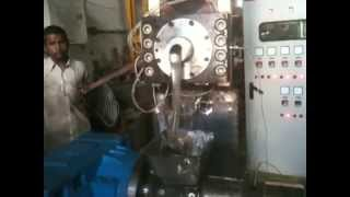 Double stage Vented recycling plant from Hikon India Factory Trial 22-8-2012
