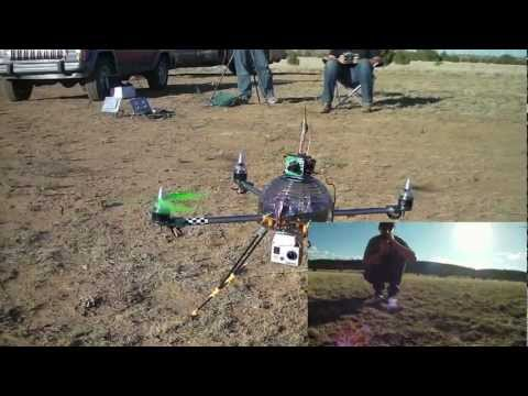 Turnigy HAL quadcopter last good flight FPV