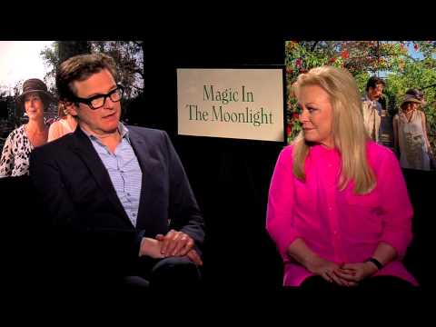 Colin Firth & Jacki Weaver Talk 'Magic In The Moonlight'