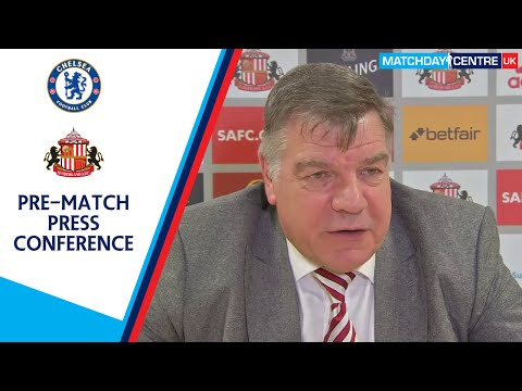 Sam Allardyce Pre-Chelsea Match Press Conference