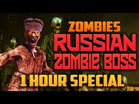 RUSSIAN ZOMBIE BOSS - 1 HOUR SPECIAL ★ Call of Duty Zombies (Zombie Games)