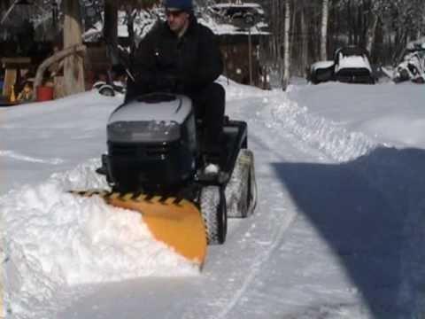 Garden Plow For Lawn Mower Lawn Mower Snow Plow