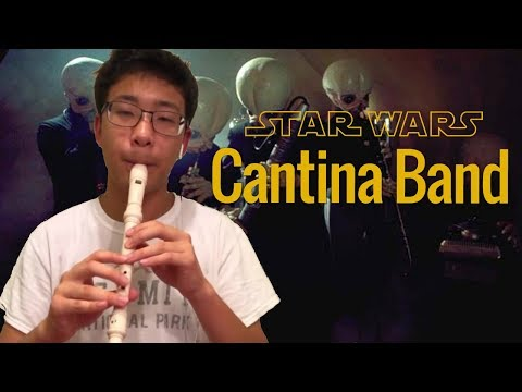 Star Wars Cantina Band on recorder