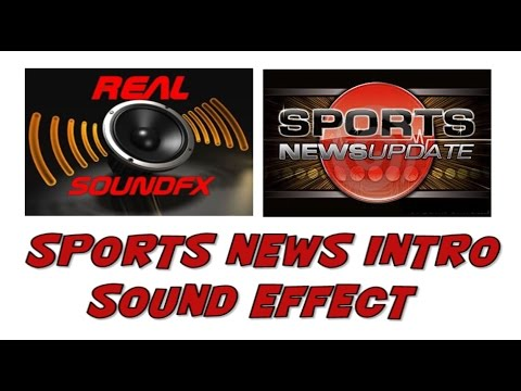 Sports News Intro Sound Effect - Realsoundfx video