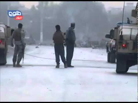 TOLOnews 30 August 2014 Suicide attack on Nangarhar's NDS office