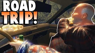 ON A ROAD TRIP FOR A McRib! - The Road Trip Gameplay